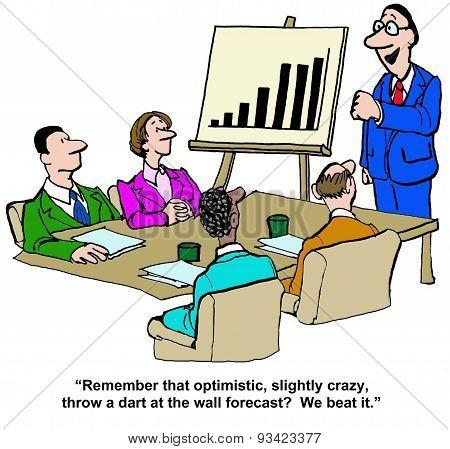 We Beat Forecast