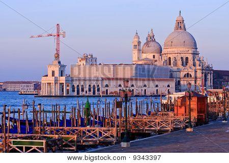 Santa Maria Della Salute  Grand canal Venice
