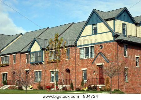 Condominiums Townhouses Under Construction 2
