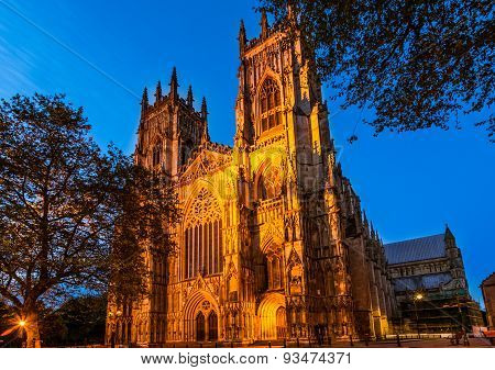 York Minster, cathedral