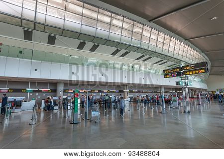Airport Of Valencia, Spain