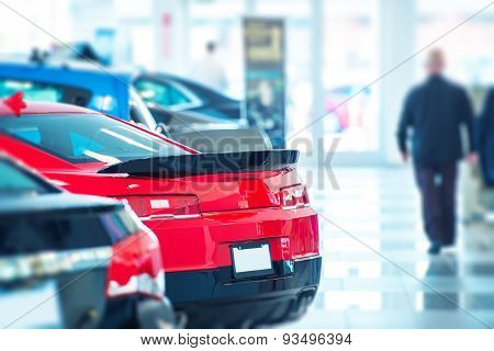 Buying New Car Concept