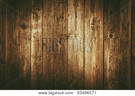 Dark Vintage Wood Backdrop
