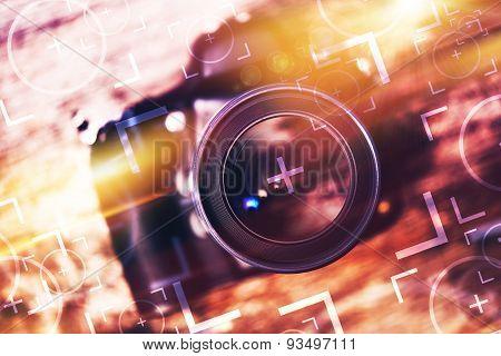 Photography Camera Concept