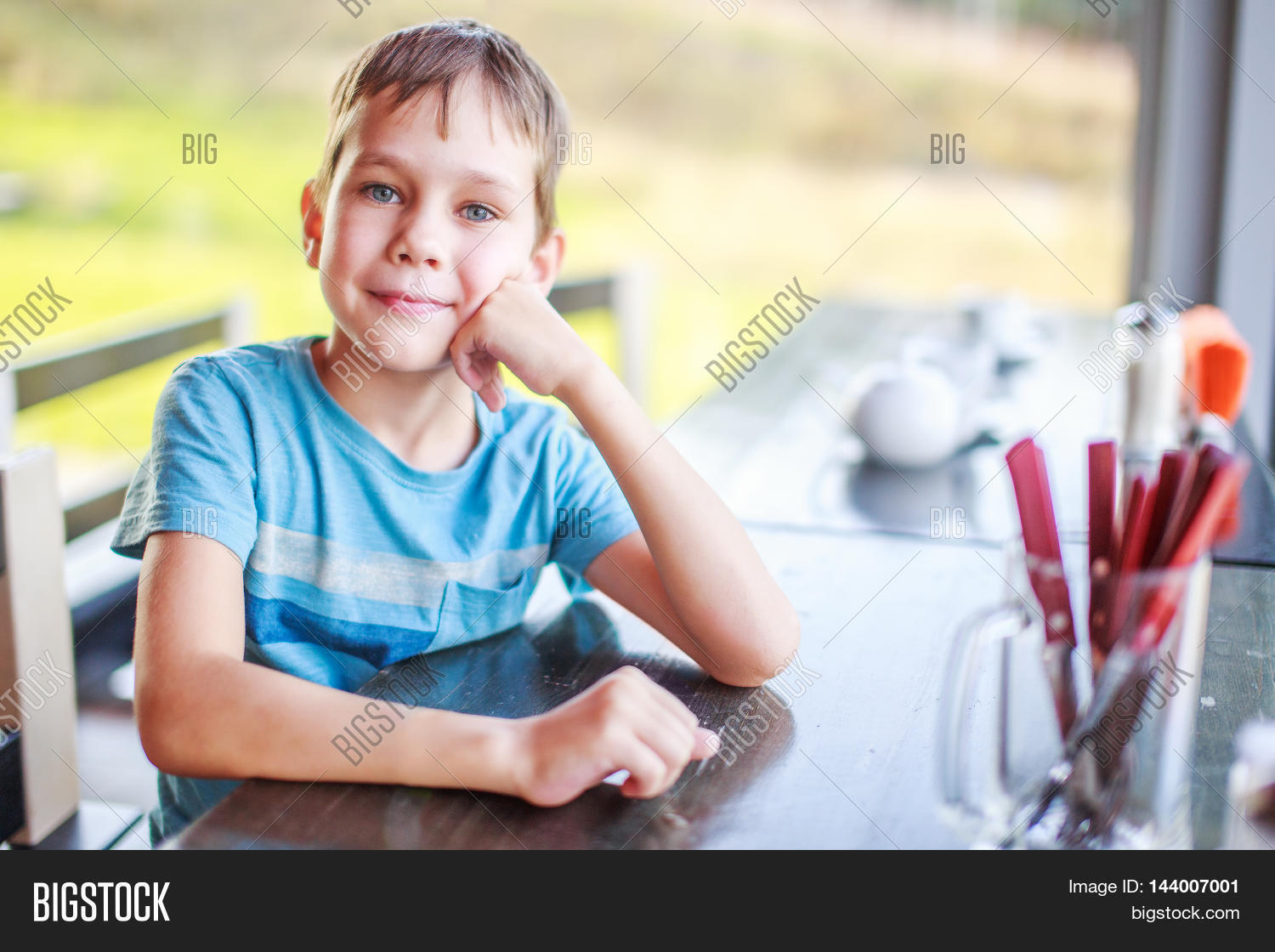 Child Cafe Waiting His Order. Cute Image & Photo | Bigstock on order art, order letter, order cute, order form, order of colors, order rainbow cake, order drinks, order biology, order nikes, order flowers, order paper, order legos, order checks, order a cake, order design, order frozen cakes, order water, order stroopwafels, order carnivore, order pizza,