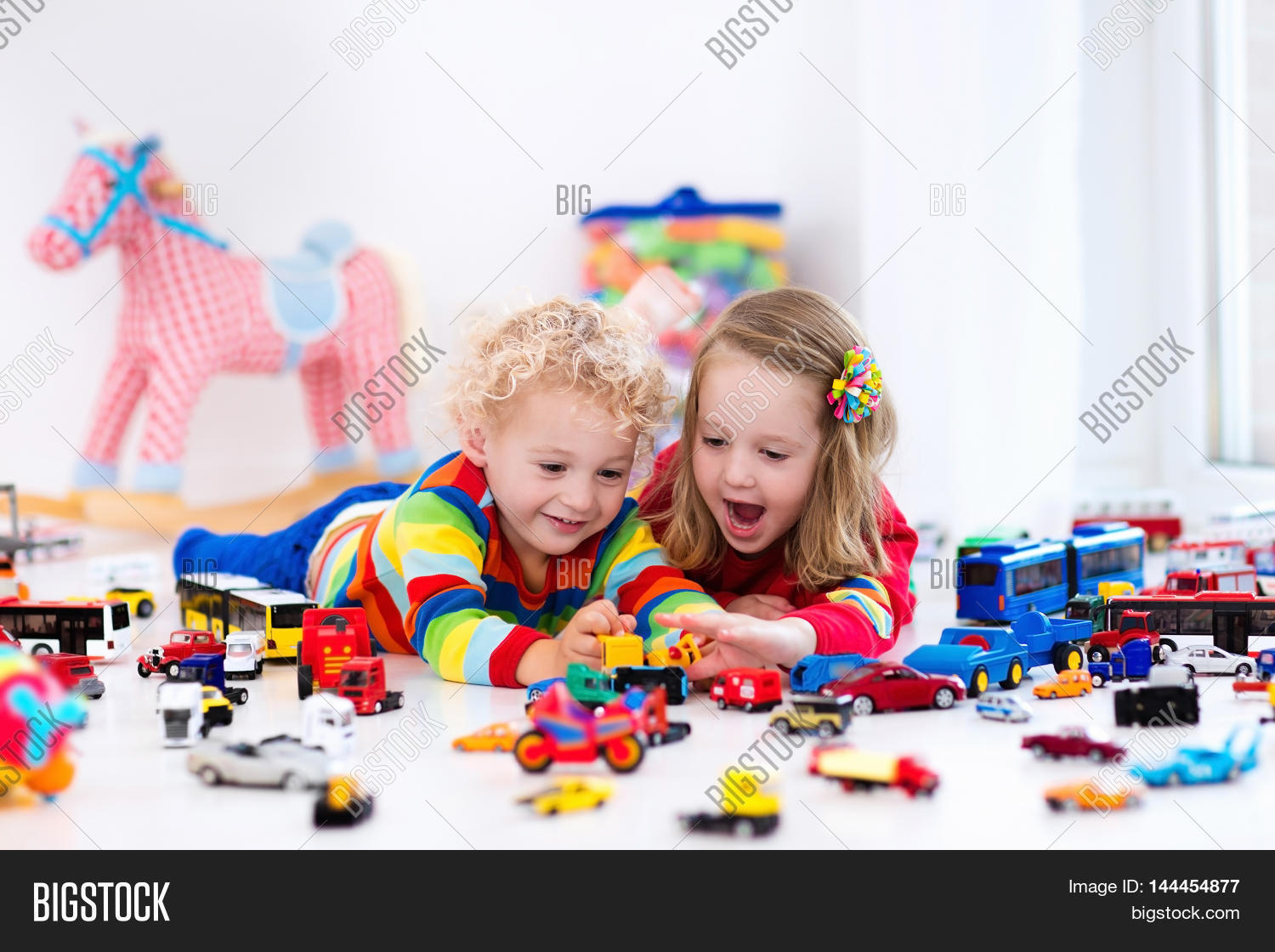 Big Boy Toys Games : Little toddler boy girl playing image photo bigstock