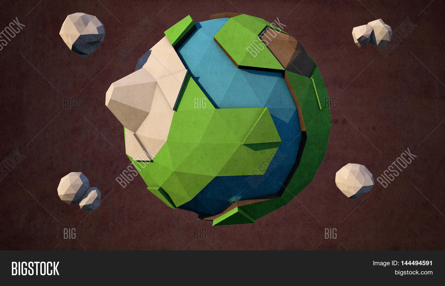 3d Model Earth Cinema Image & Photo (Free Trial) | Bigstock