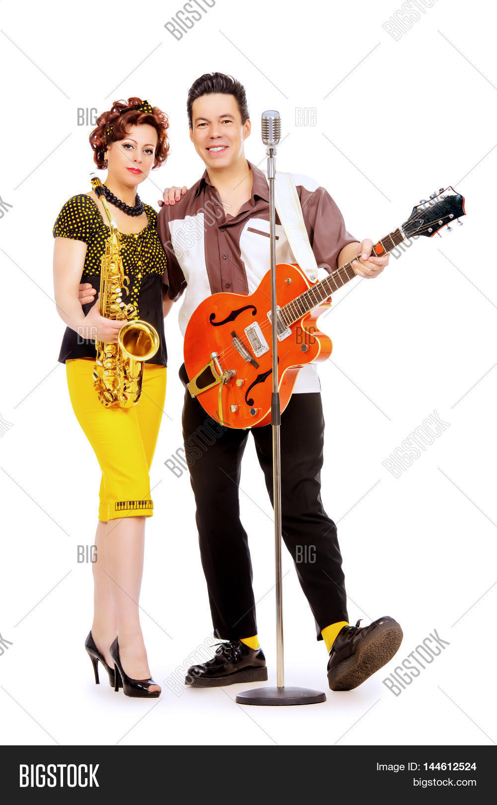 Guitarist Saxophonist Image & Photo (Free Trial) | Bigstock