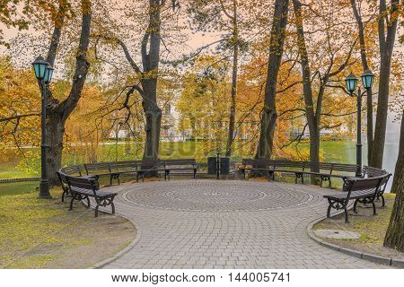 Central public park of Riga that is the capital and largest city of Latvia, a major commercial, cultural, historical, tourist and financial center of the Baltic region