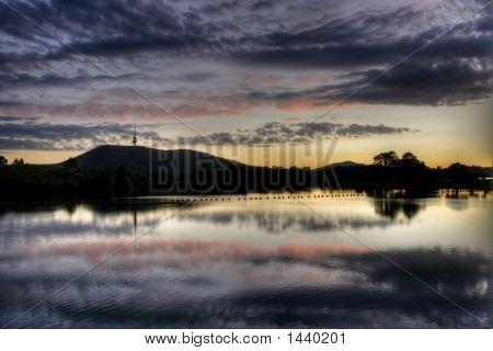 Lake Burley Griffin Sunrise