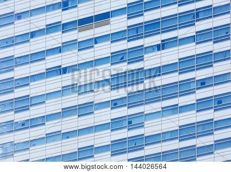 Glass Facade Of A Modern Building