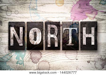 North Concept Metal Letterpress Type