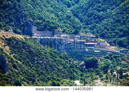 Dionissiou Monastery, Mount Athos