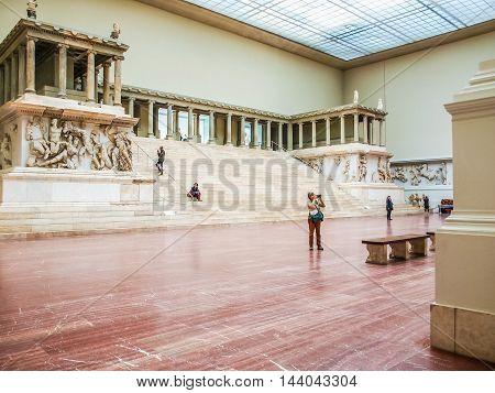 Pergamon Museum In Berlin (hdr)