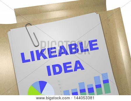 Likeable Idea Concept