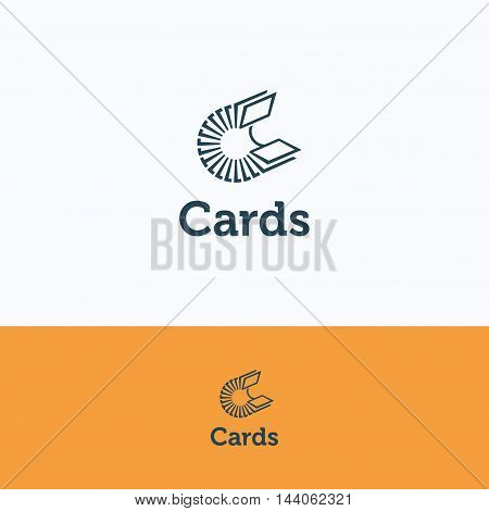 C Cards Files Logo