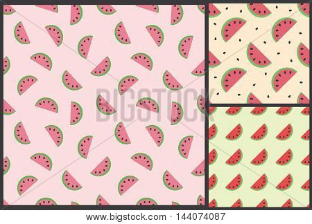 watermelon pattern, summer pattern, kids pattern, watermelon background, fruit pattern, food pattern, pattern for vegan