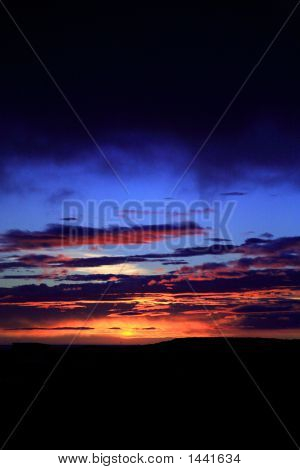 Amazing Icelandic Sunset