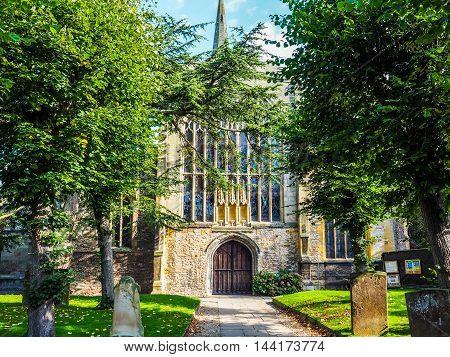 Holy Trinity Church In Stratford Upon Avon Hdr
