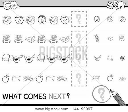 Pattern Activity Coloring Page