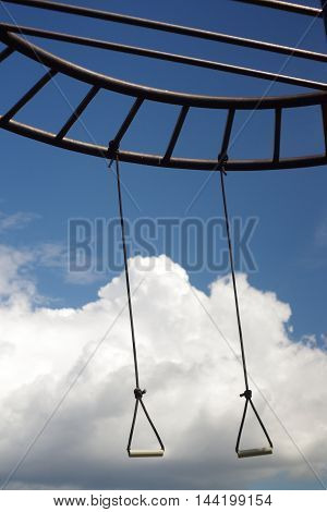 Heavenly swing. The oldest  the children's entertainment delighting and octal still.
