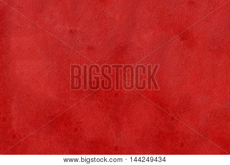 Abstract Dark Red Watercolor Background