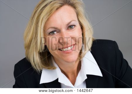 Smiling Business Person