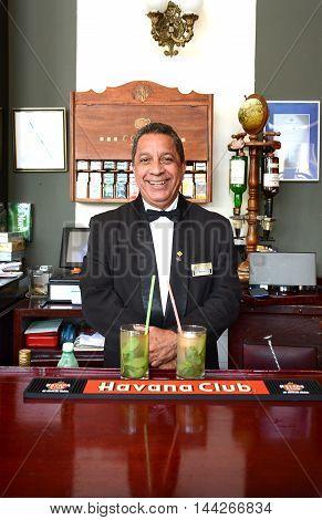 Bartender Hotel Nacional