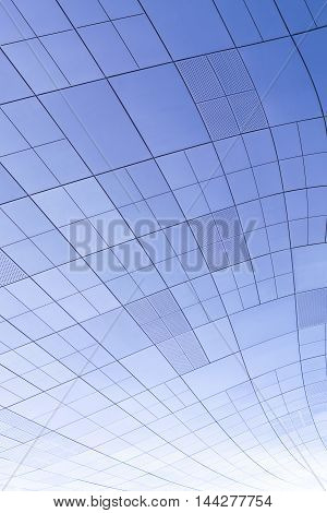 Seoul, South Korea - August 14, 2016: Part Of Dongdaemun Design Plaza Roof In Seoul, Designed By Zah