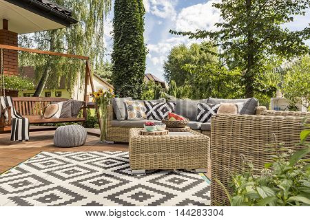 New Villa Patio Idea