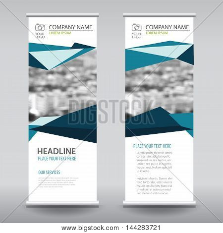 roll up business brochure flyer banner design vertical template vector cover presentation abstract geometric background modern publication x-banner and flag-banner