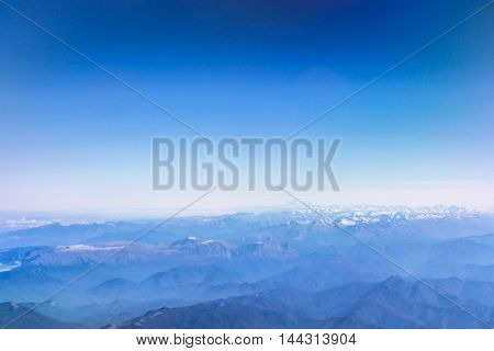 Clouds Over Caucasus Mountains