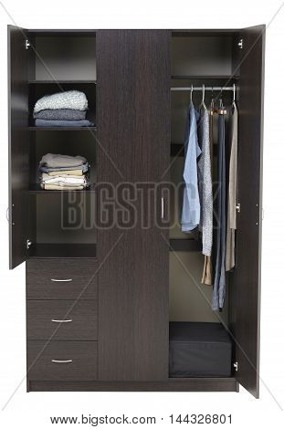 Wardrobe Isolated
