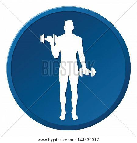 Man People Athletic Gym Gymnasium Body Building Exercise