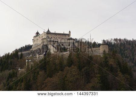 worth seeing castle Hohenwerfen in Salzburg - Austria