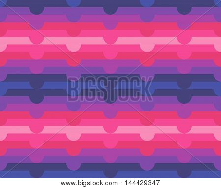 Abstract Seamless Geometric Neon Pattern Background