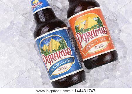 Pyramid Ales On Ice Closeup