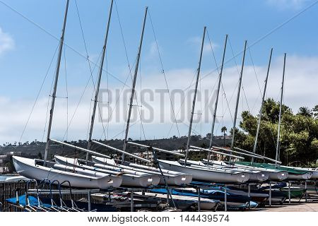 Small Sailboats