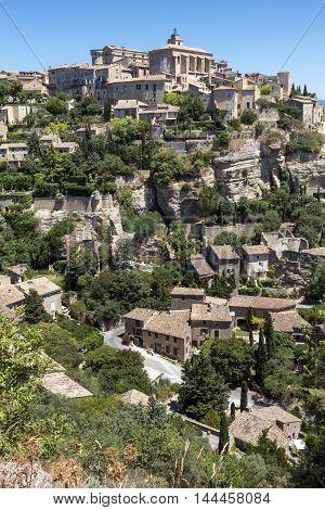 Medieval Village of Gordes in Southern France (Provence)