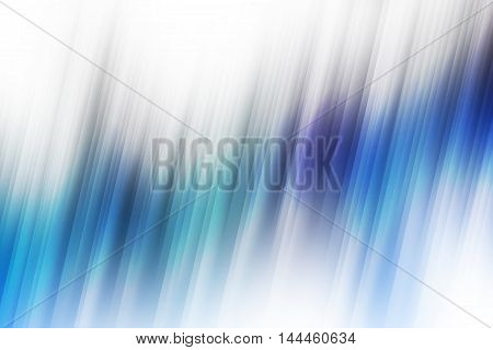 Blue and purple blurred rays of light blend to create abstract background