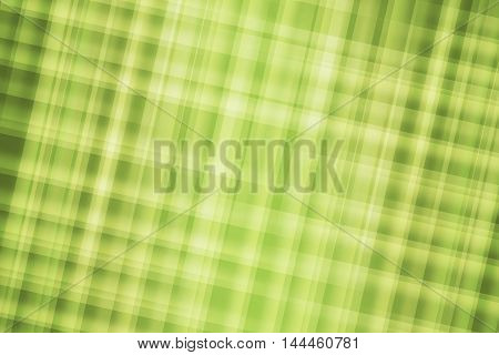 Green plaid colors blend to create abstract background