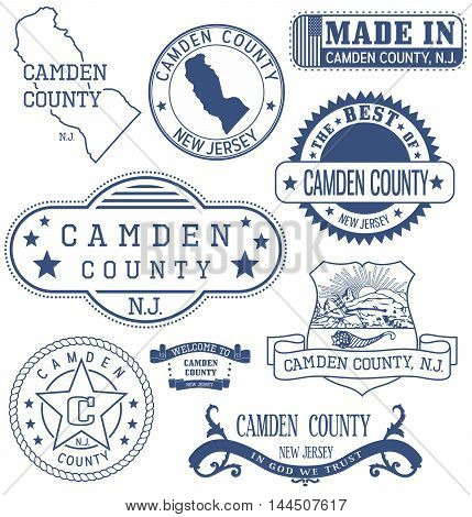 Camden County, Nj, Generic Stamps And Signs