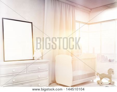 Children Room With Poster