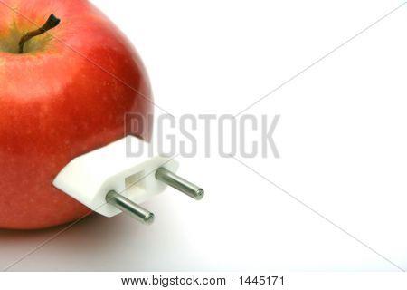 Apple With Plug