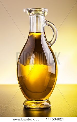 Cruet With Olive Oil