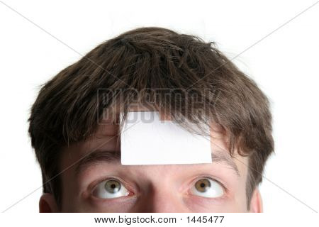 Blank Forehead One