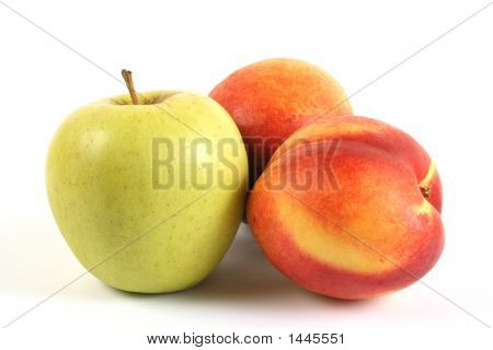 Apple And Nectarine
