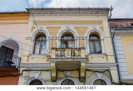 Tenement house in Cluj-Napoca city in Romania poster