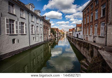 Bruges in Belgium old town