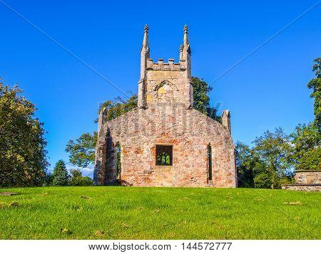 Cardross Old Parish Church Hdr
